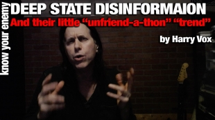 THE DEEP STATE'S DISINFO & UNFRIEND-A-THON