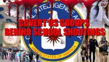 PRIVATE US COVERT GROUPS BEHIND SCHOOL SHOOTINGS